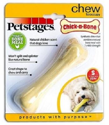 Petstages Chick-a-Bone игрушка для собак с ароматом курицы 11 см