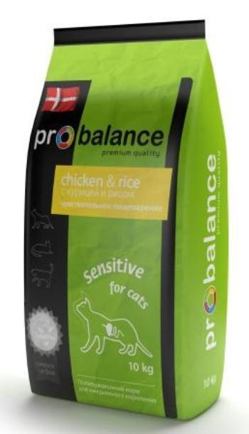 ProBalance Sensitive сухой корм для кошек с чувствительным пищеварением