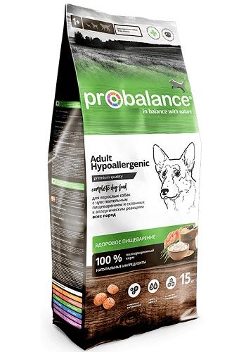 ProBalance Hypoallergenic сухой корм для взрослых собак гипоаллергенный