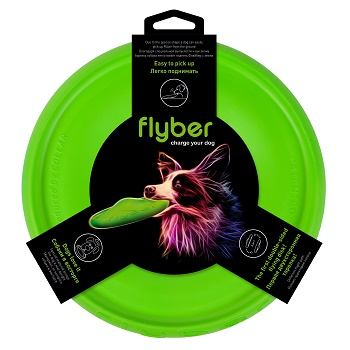 Flyber двустороняя летающая тарелка для собак 22 см