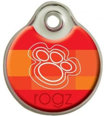 Rogz ID-Tagz адресник на ошейник металл (размер L)