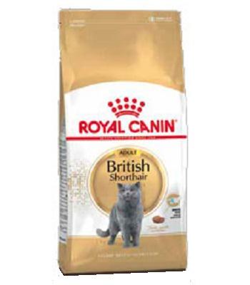 Royal Canin British Shorthair Adult сухой корм для кошек породы британская короткошерстная