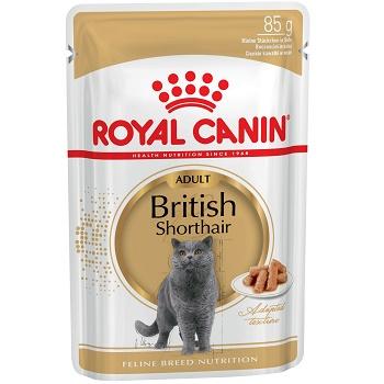 Royal Canin British Shorthair влажный корм для кошек в соусе (12 шт.)
