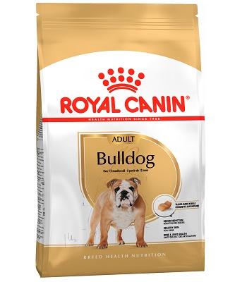 Royal Canin Bulldog Adult сухой корм для собак породы английский бульдог