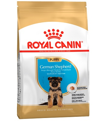 Royal Canin German Shepherd Puppy сухой корм для щенков породы немецкая овчарка