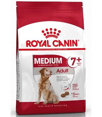 Royal Canin Medium Adult 7+ сухой корм для собак средних пород