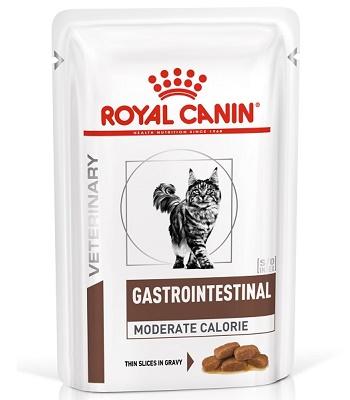 Royal Canin Gastrointestinal Moderate Calorie влажный корм для кошек при нарушениях пищеварения (12 шт.)