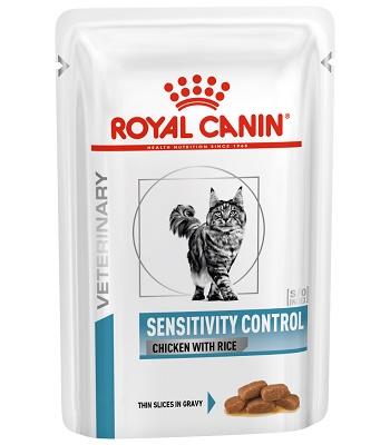 Royal Canin Sensitivity Control влажный корм для кошек с пищевой аллергией (12 шт.)