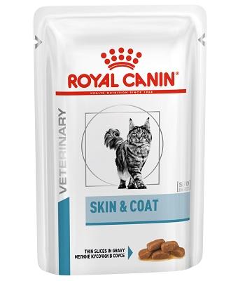 Royal Canin Skin & Coat влажный корм для стерилизованных кошек (12 шт.)