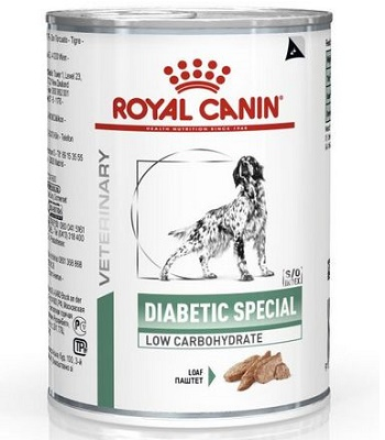 Royal Canin Diabetic Special Low Carbohydrate влажный корм для собак при диабете