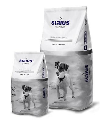 Sirius Platinum сухой корм для собак мелких пород с индейкой и овощами