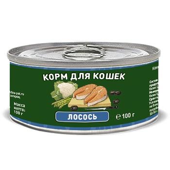 Solid Natura Holistic консервы для кошек с лососем