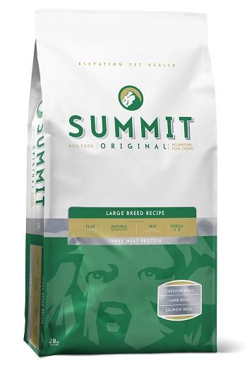 Summit Large Breed сухой корм для взрослых собак крупных пород три вида мяса