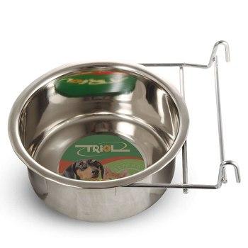 Triol миска металлическая с держателем на крючках 0,55 л (4403)