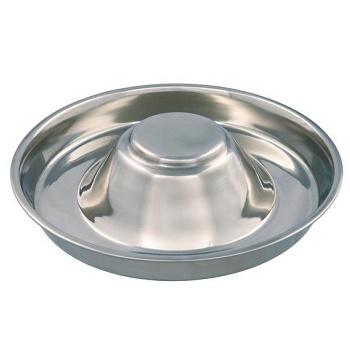 Trixie миска для щенков стальная 1,4 л/29 см