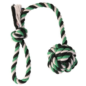 Trixie игрушка для собак DentaFun веревка с узлом 30 см (3268)