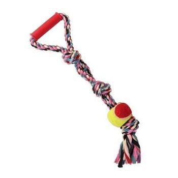 Trixie игрушка для собак DentaFun веревка с мячом 50 см (3280)