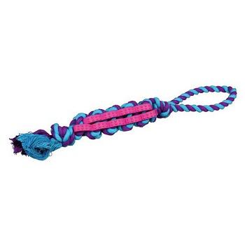 Trixie игрушка для собак DentaFun узлы из резины на веревке (33192)
