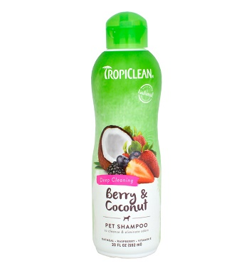 Tropiclean Berry & Coconut шампунь для глубокого очищения