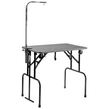 V.I.Pet стол для груминга складной на колесах с кронейном