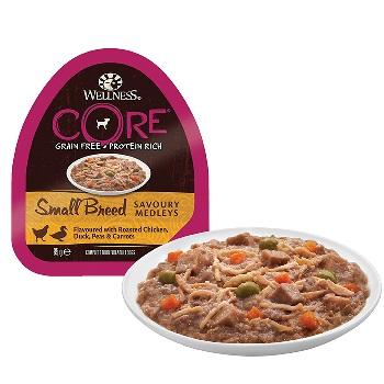Wellness Core Small Breed консервы для собак с курицей и уткой