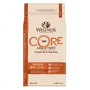 Wellness Core Original сухой корм для взрослых кошек с индейкой и курицей