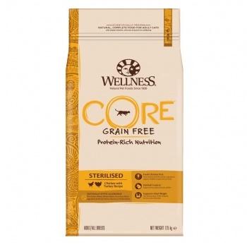 Wellness Core Sterilised сухой корм для стерилизованных кошек с курицей и индейкой