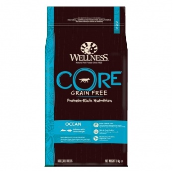 Wellness Core Ocean сухой корм для взрослых собак с лососем