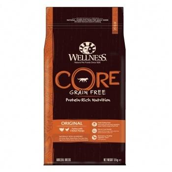 Wellness Core Original сухой корм для взрослых собак с индейкой