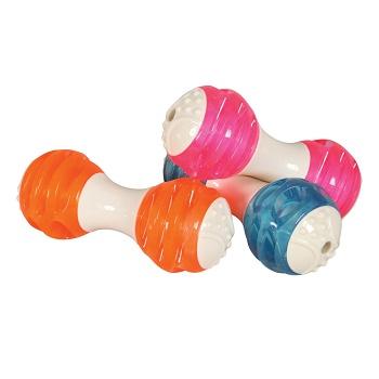 Zolux Dental игрушка для собак Гантель из термопластичной резины 14,5 см