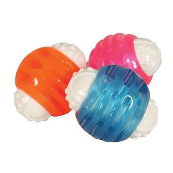 Zolux Dental игрушка для собак Мяч из термопластичной резины 8,5 см