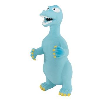 Zolux игрушка для собак латексная Динозавр голубой 24 см
