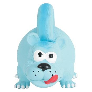 Zolux игрушка для собак латексная Медведь голубой 15 см