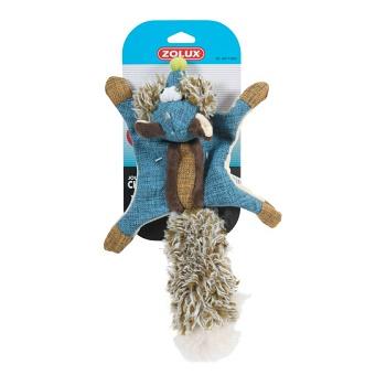 Zolux игрушка для собак Белка-летяга синяя 38 см