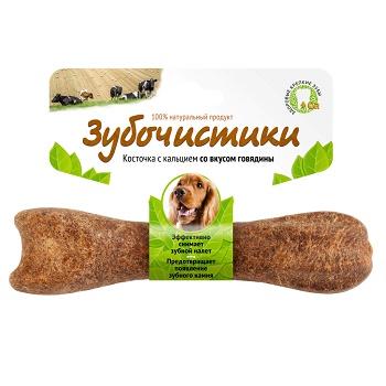 Зубочистики лакомство для собак средних пород со вкусом говядины
