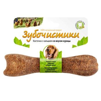 Зубочистики лакомство для собак средних пород со вкусом курицы