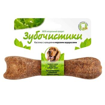 Зубочистики лакомство для собак средних пород со вкусом водорослей