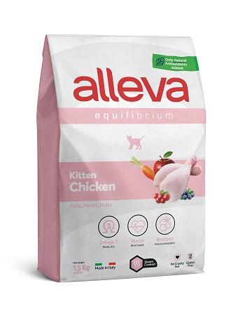 Alleva Equilibrium Kitten Chicken сухой корм для котят с курицей