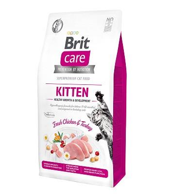 Brit Care Kitten Healthy Growth & Development сухой корм для котят