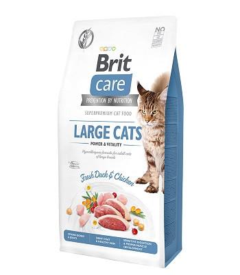 Brit Care Large Cats Power & Vitality сухой корм для взрослых кошек крупных пород