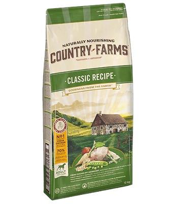 Country Farms Classic Recipe сухой корм для взрослых собак всех пород с курицей