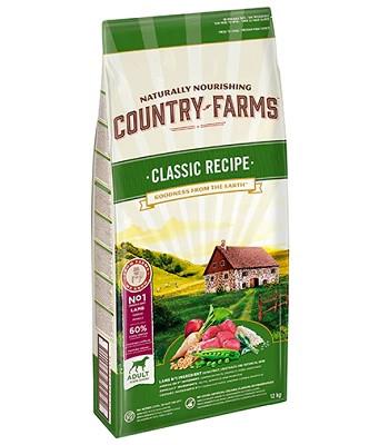 Country Farms Classic Recipe сухой корм для взрослых собак всех пород с ягненком