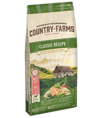 Country Farms Classic Recipe сухой корм для взрослых собак всех пород с лососем