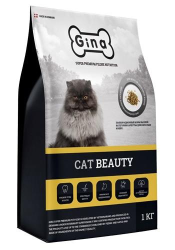 Gina Cat Beauty сухой корм для взрослых кошек