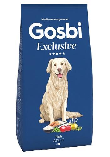 Gosbi Excluisve Adult Medium Fish сухой корм для собак всех пород с рыбой