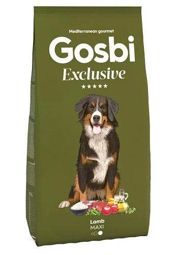 Gosbi Excluisve Adult Maxi Lamb сухой корм для собак крупных пород с ягненком
