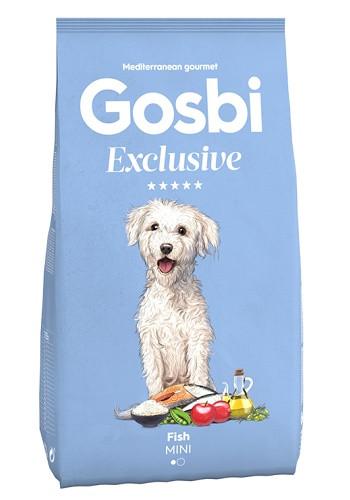 Gosbi Excluisve Adult Mini Fish сухой корм для собак мелких пород с рыбой