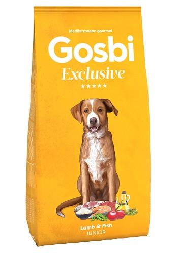 Gosbi Excluisve Junior Lamb&Fish сухой корм для щенков с ягненком и рыбой