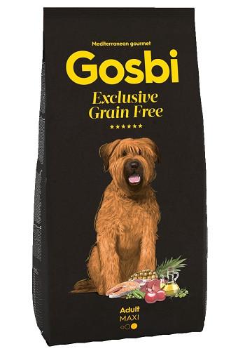 Gosbi Excluisve GF Adult Maxi сухой корм для собак крупных пород с рыбой и ягненком