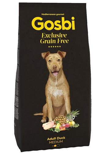 Gosbi Excluisve GF Adult Medium Duck сухой корм для собак всех пород с уткой